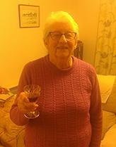 Ellen Butler on recent birthday CROPPED