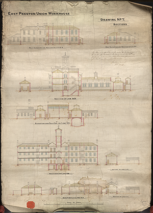 07 East Preston Workhouse Plans Dwg No 7