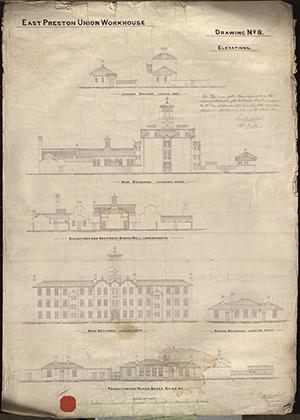 07 East Preston Workhouse Plans Dwg No 8