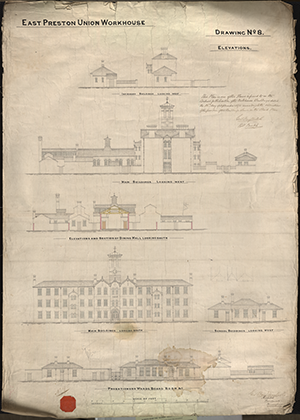 07 East Preston Workhouse Plans Dwg No 8