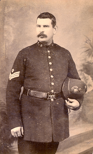 Amos Suter,Police Sergeant at Horsham, July 1891 to October 1901(PH/18277)