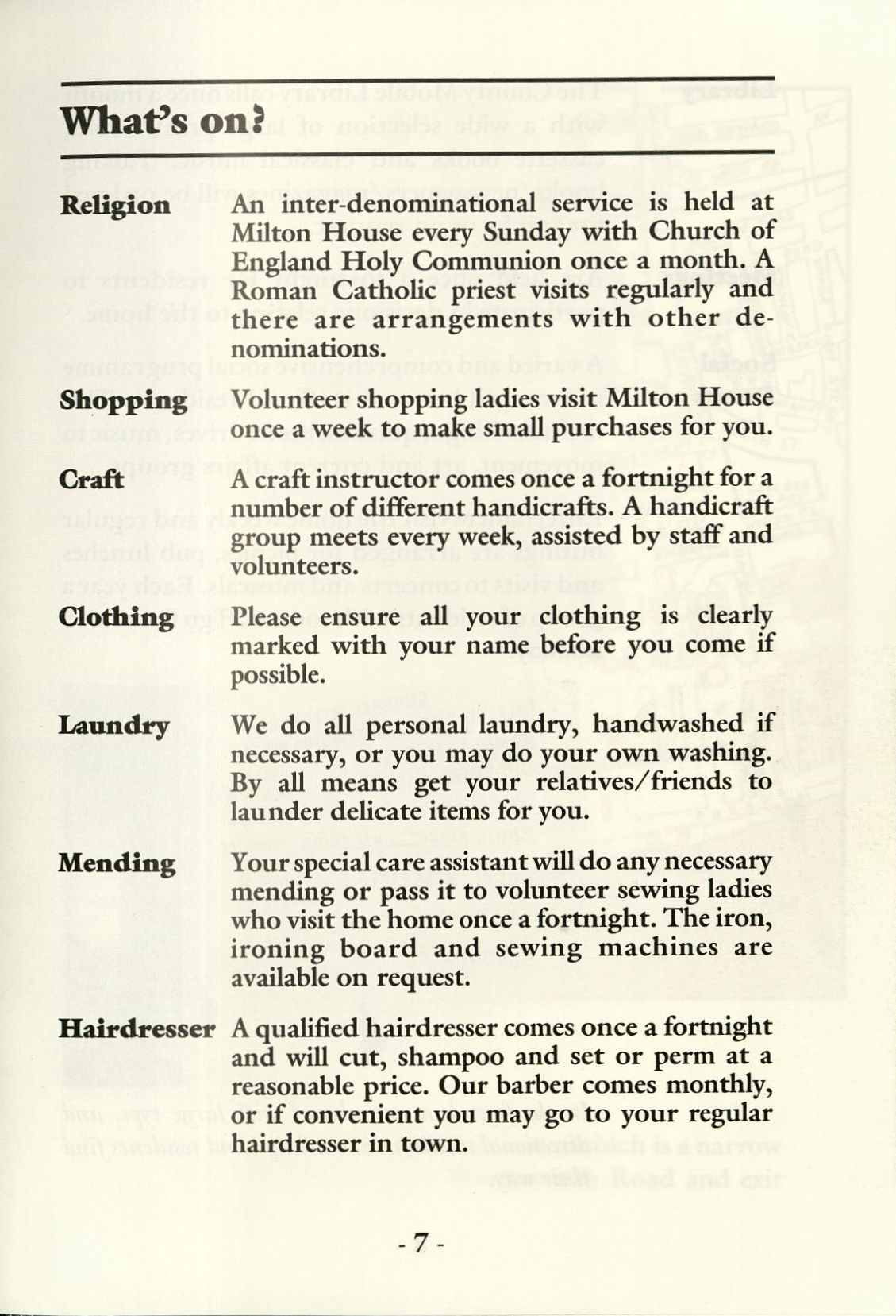 Worthing Home For The Blind Management Committee Minutes 1937 1960
