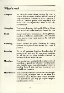 Worthing Society for the Blind, activities at Worthing House (WDC-SS5-4-3)