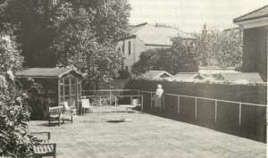 Worthing Society for the Blind, garden at Milton House (WDC-SS5-3-4)