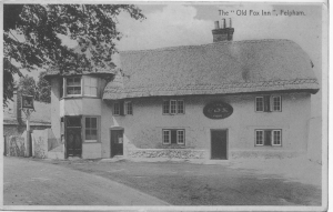 PH23182 Fox Inn, 1931