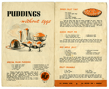 World war 2 ministry of food recipe leaflets add mss 54872 west 17 add mss 54872 forumfinder Image collections