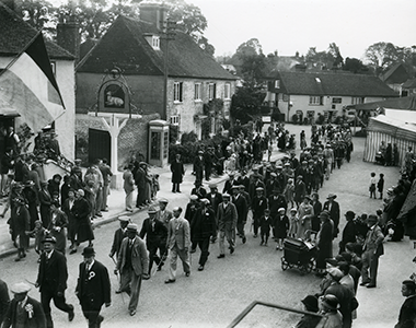 Harting Club Day, Whit Monday (6th June) 1938 (Garland N16895A)