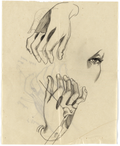 medical-drawing-showing-operation-on-hands-1942-acc