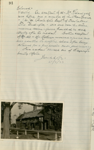 steyning-pc-minute-book-recording-results-of-bombing-apr-1939-nov-1949