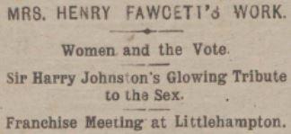 Fawcett Meeting Headline for Blog