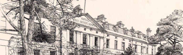 Royal West Sussex Sketch