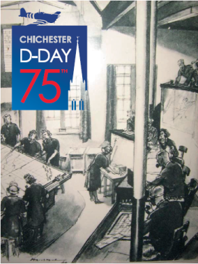 Chichester d_day 75th logo
