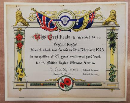 AM 1260 Certificate